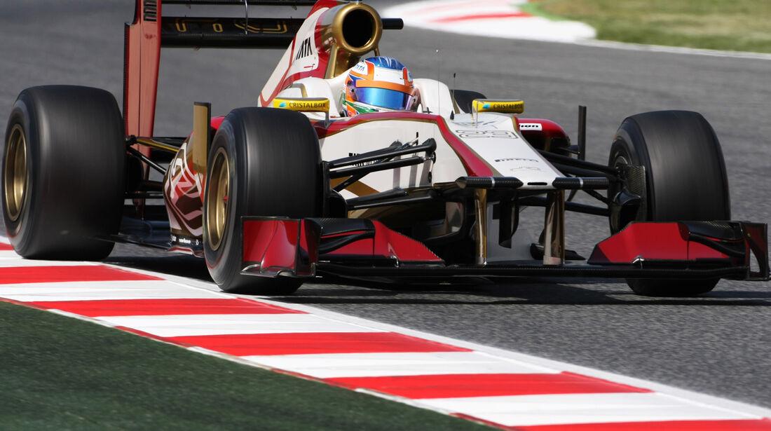 Narain Karthikeyan GP Spanien 2012