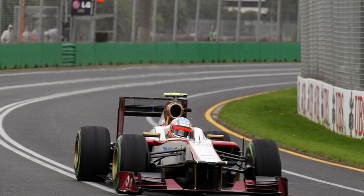 Narain Karthikeyan HRT GP Australien 2012