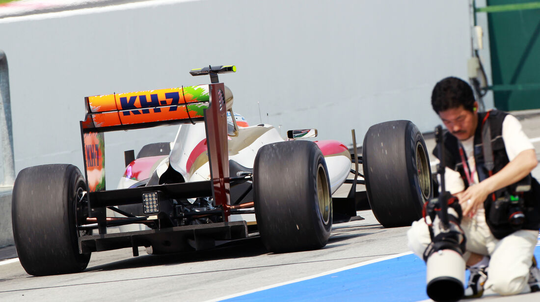 Narain Karthikeyan - HRT - GP Malaysia - Training - 23. März 2012
