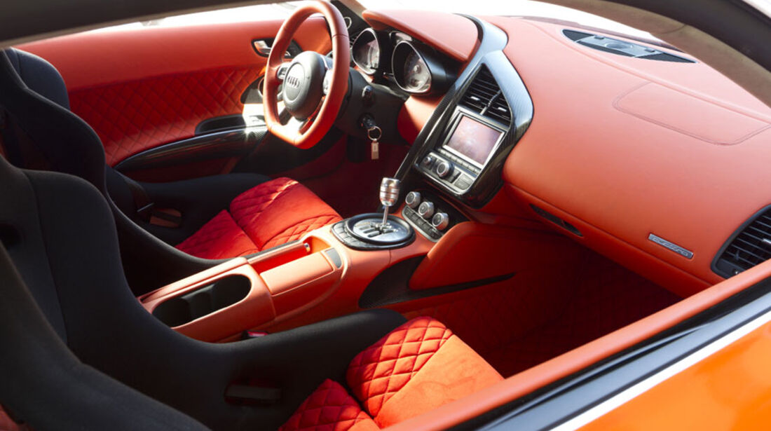 Nardo 2010 Tuning-Modelle, MTM Audi R8, Innenraum, Cockpit