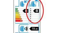 Nassbremsen, Reifen-Label