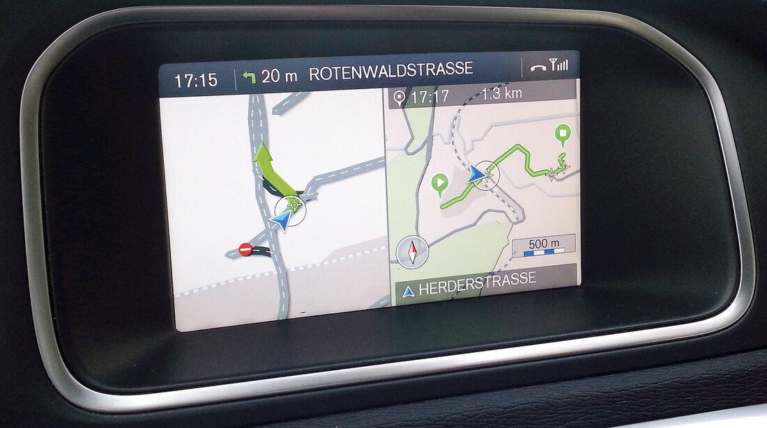 Navigation, Display, Karte