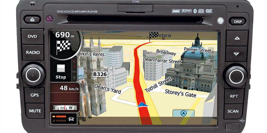 Navigationssysteme zum Nachrüsten, Bi-Automotive Media Center