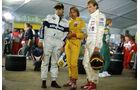 Nelson Piquet, Keke Rosberg & Stefan Bellof - Aktuelles Sportstudio 1985