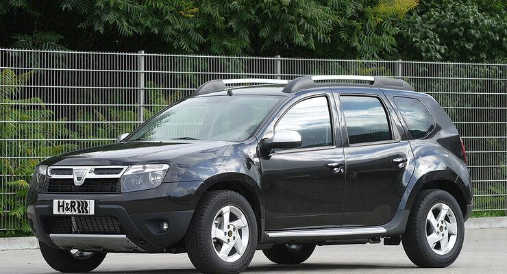 Neue Tieferlegungen 10/10 Dacia Duster