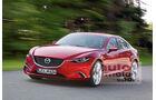 Neuer Mazda 6 Retusche