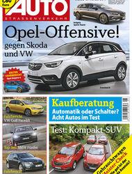 Neues Heft AUTOStrassenverkehr, Ausgabe 05/2017