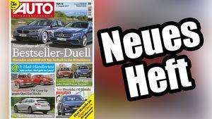 Neues Heft, AUTOStrassenverkehr, Ausgabe 18/2017, Heftvorschau