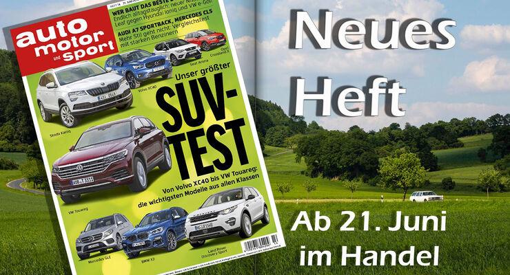 Neues Heft auto motor und sport 14/2018 - auto motor und sport