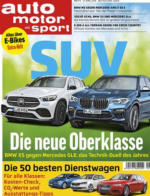 Neues Heft auto motor und sport 9/2018