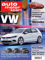 Neues Heft, auto motor und sport, Ausgabe 03/2016, Vorschau, Preview
