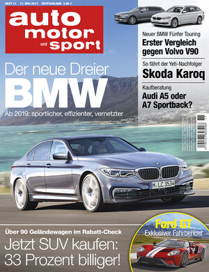 auto motor und sport heft 11 2017. Black Bedroom Furniture Sets. Home Design Ideas