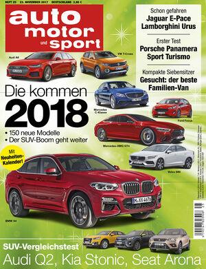 auto motor und sport Heft 25/2017
