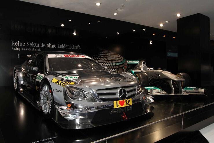 Neuheiten auf der IAA 2011 in Frankfurt - Mercedes C-Klasse DTM 2012