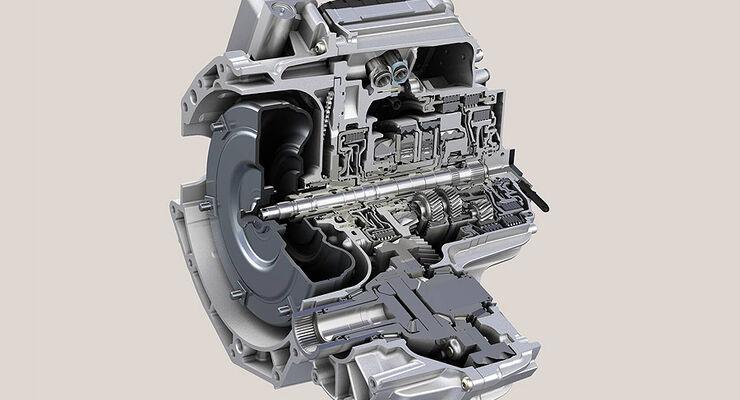 Neungang-Automatikgetriebe ZF 9HP