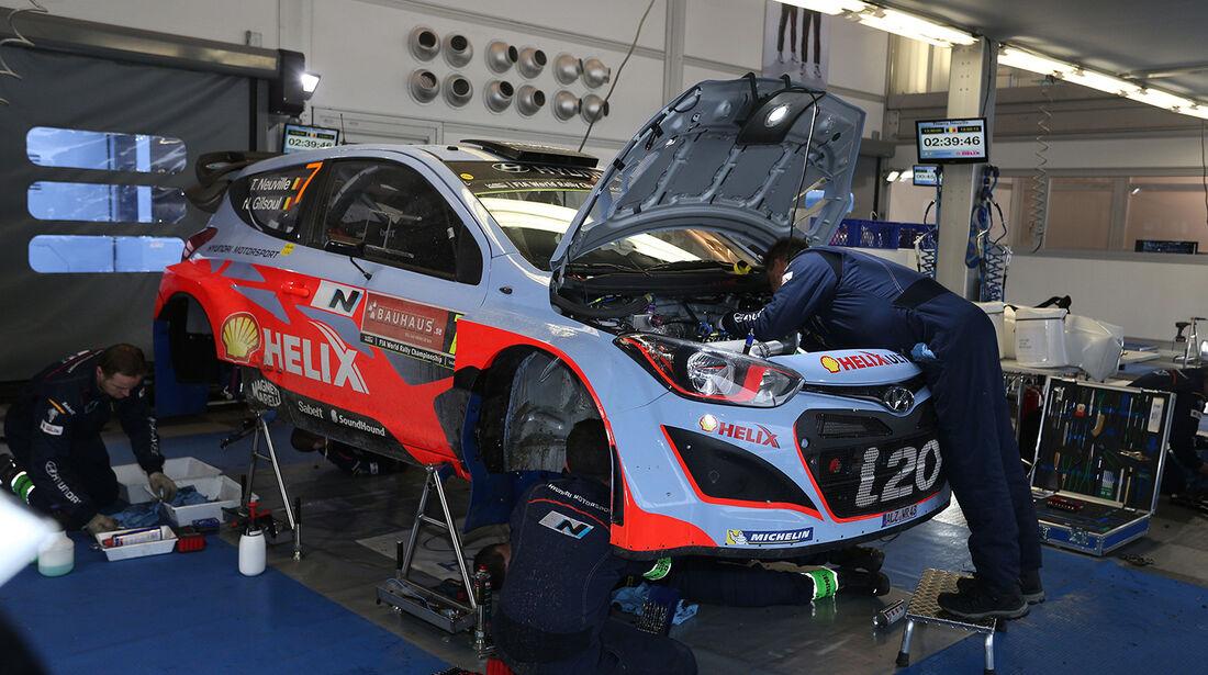 Neuville, Hyundai i20 WRC, Rallye Schweden 2014,