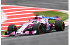 Nicholas Latifi - Force India - F1-Test - GP Spanien - Barcelona - Tag 2 - 16. Mai 2018