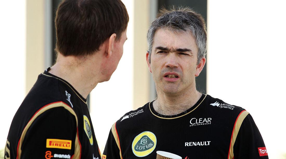 Nick Chester - Lotus - Formel 1 - Test - Bahrain - 27. Februar 2014