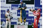 Nick Heidfeld - BMW - Fernando Alonso - Renault - Rubens Barrichello - Ferrari - GP Deutschland 2005 - Nürburgring