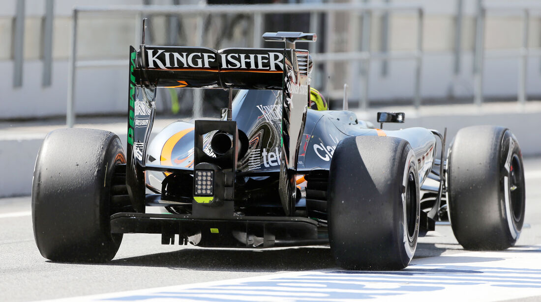 Nick Yelloly - Force India - Barcelona-Test - 12. Mai 2015