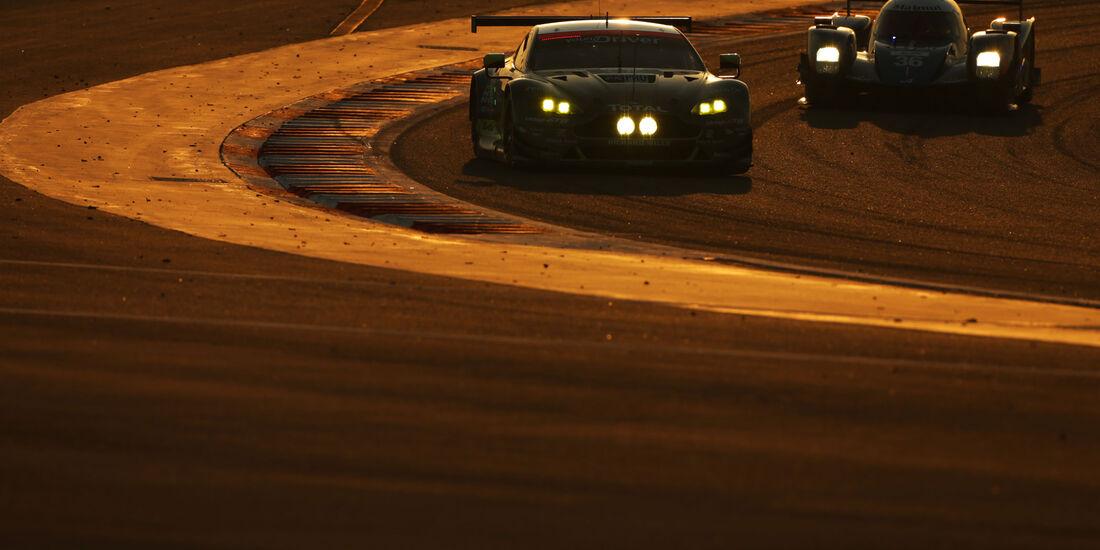 Nicki Thiim, Marco Sorensen - Aston Martin Vantage V8 - WEC - Sportwagen-WM - Bahrain 2016