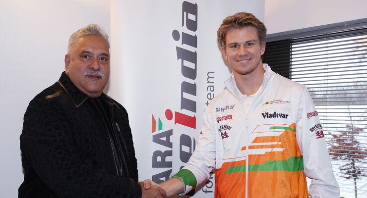 Nico Hülkenberg - Force India - 2013