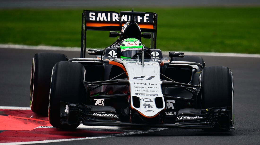 Nico Hülkenberg - Force India - Formel 1 - GP Mexiko - 28. Oktober 2016