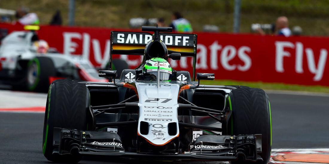Nico Hülkenberg - Force India - Formel 1 - GP Ungarn - 22. Juli 2016