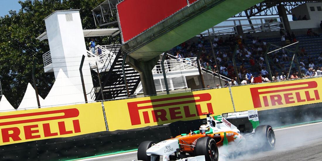 Nico Hülkenberg Force India GP Brasilien 2011