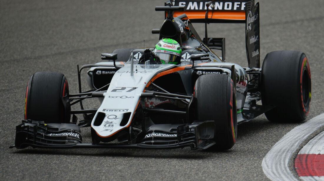 Nico Hülkenberg - Force India - GP China 2016 - Shanghai - Qualifying - 16.4.2016