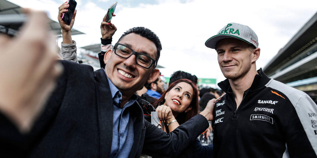 Nico Hülkenberg - Force India - GP Mexiko 2016