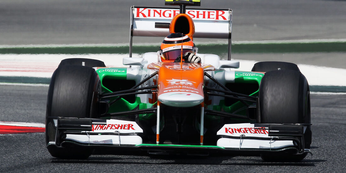 Nico Hülkenberg - Force India - GP Spanien - 12. Mai 2012