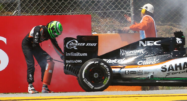 Nico Hülkenberg - Force India - GP Spanien 2016
