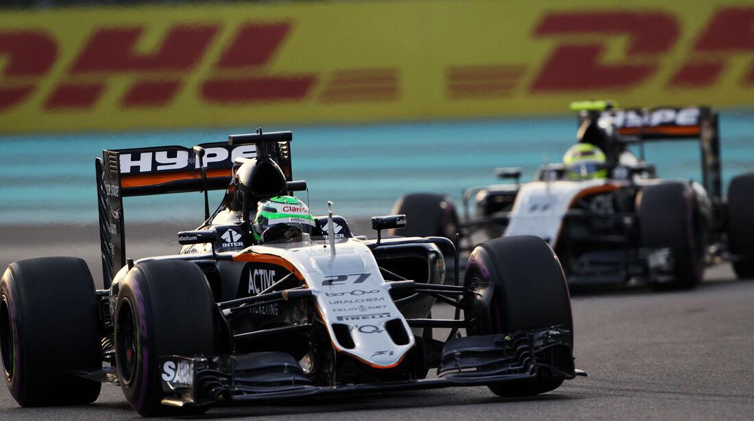 Nico Hülkenberg - Formel 1 - GP Abu Dhabi 2016