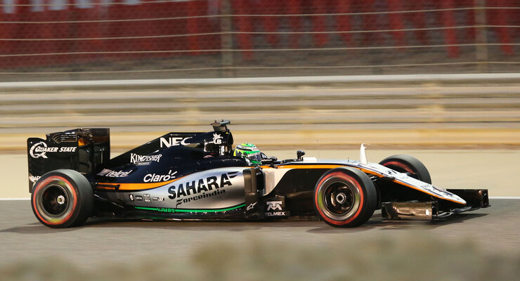 Nico Hülkenberg - Formel 1 - GP Bahrain - 2. April 2016