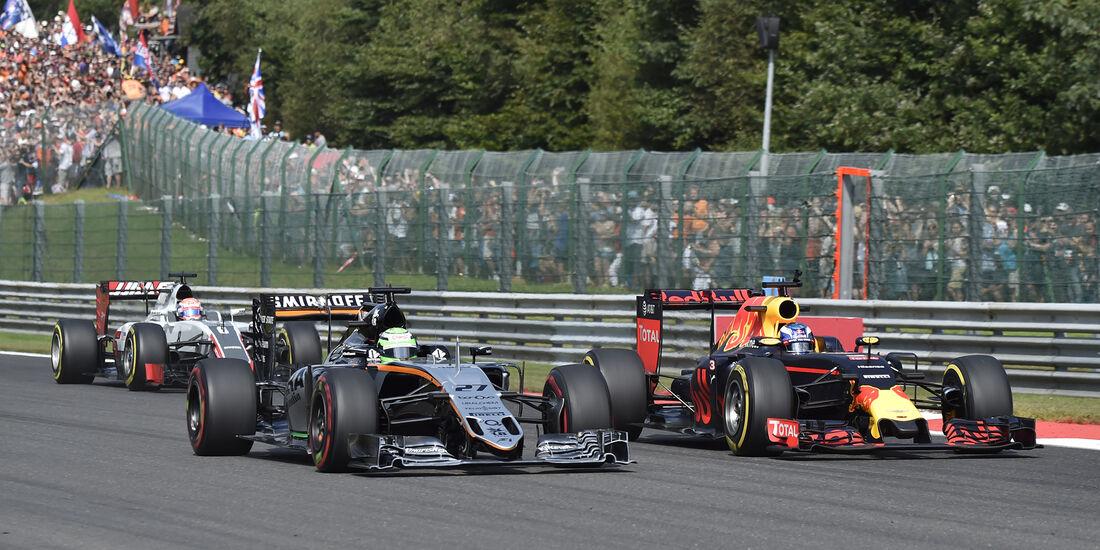 Nico Hülkenberg - Formel 1 - GP Belgien 2016
