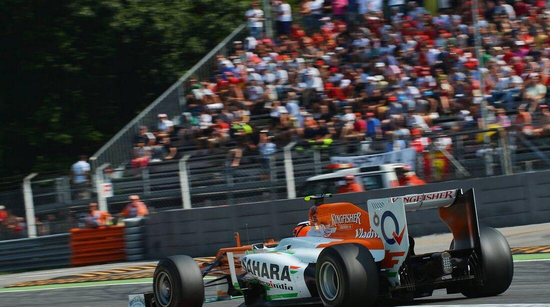 Nico Hülkenberg - Formel 1 - GP Italien - 09. September 2012