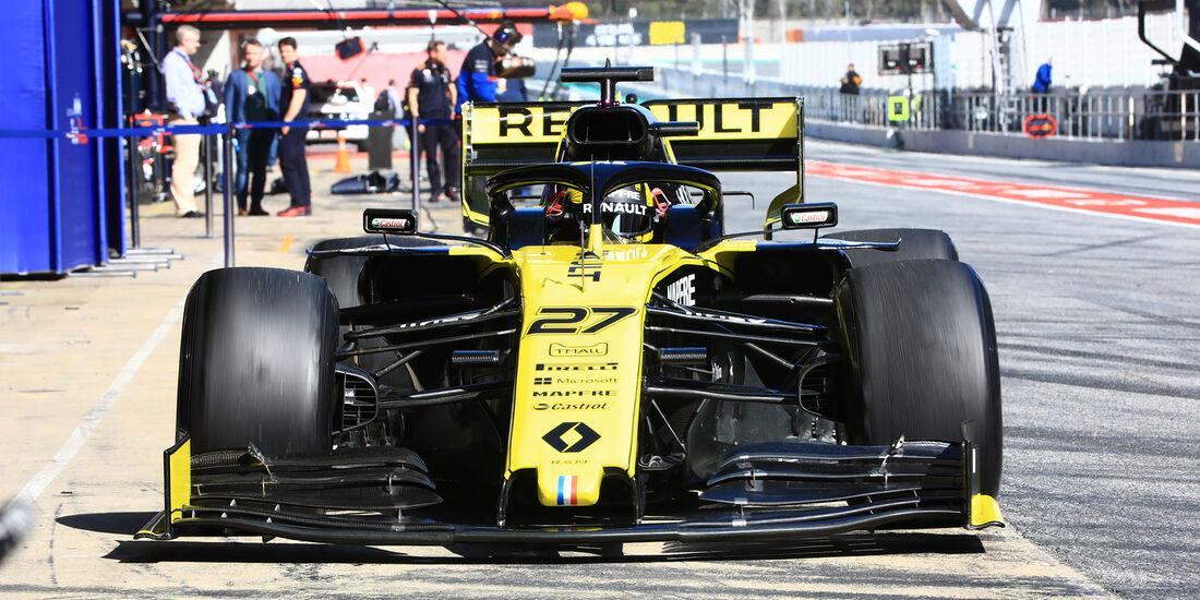 Nico Hülkenberg - Renault - Barcelona - F1-Test - 28. Februar 2019