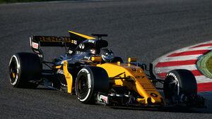 Nico Hülkenberg - Renault - F1-Test - Barcelona - 27. Februar 2017