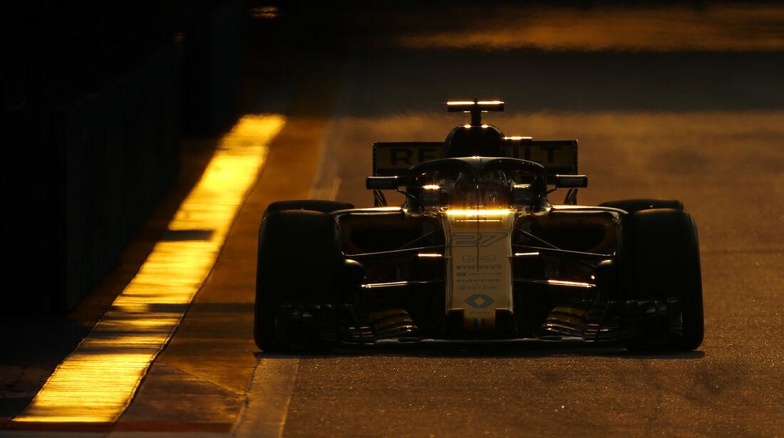 Nico Hülkenberg - Renault - Formel 1 - GP Singapur - 14. September 2018