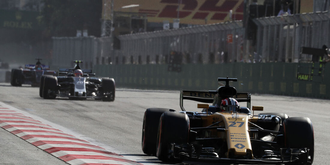 Nico Hülkenberg - Renault - GP Aserbaidschan 2017 - Baku - Rennen