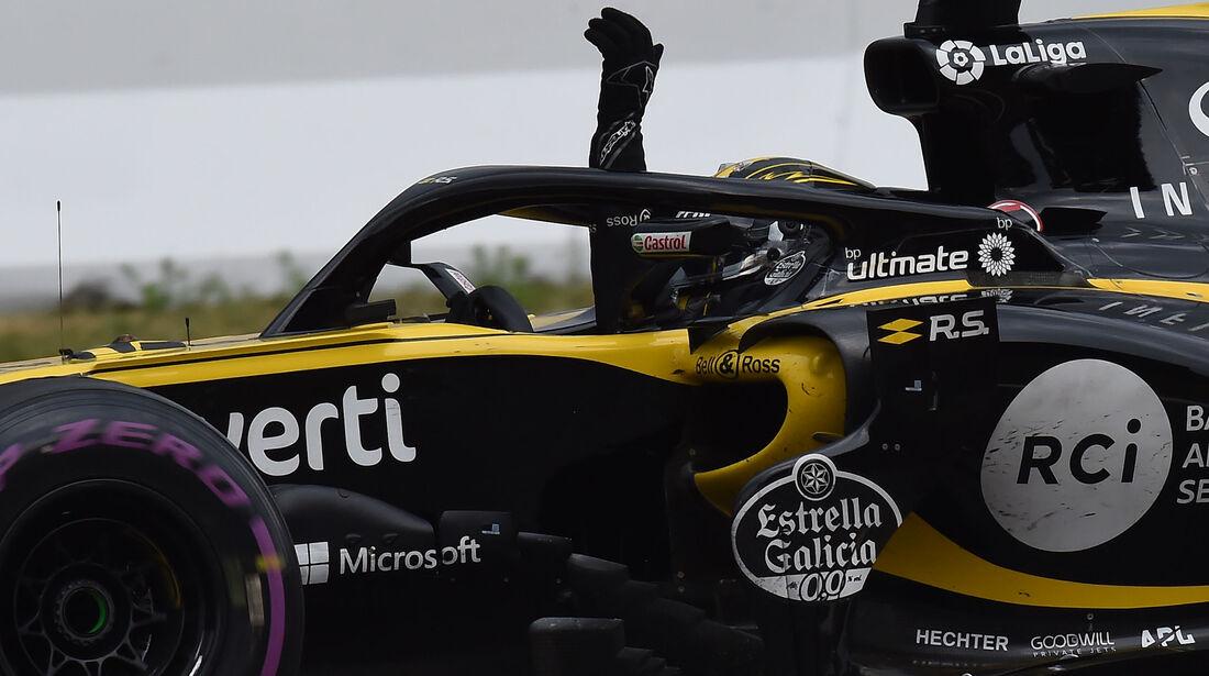 Nico Hülkenberg - Renault - GP Deutschland 2018 - Rennen