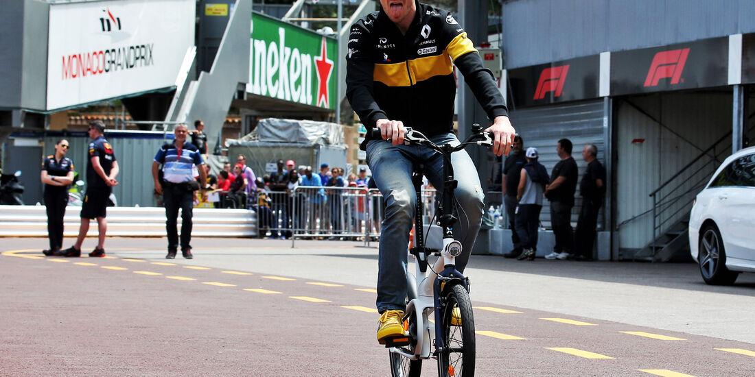 Nico Hülkenberg - Renault - GP Monaco - Formel 1 - Mittwoch - 23.5.2018