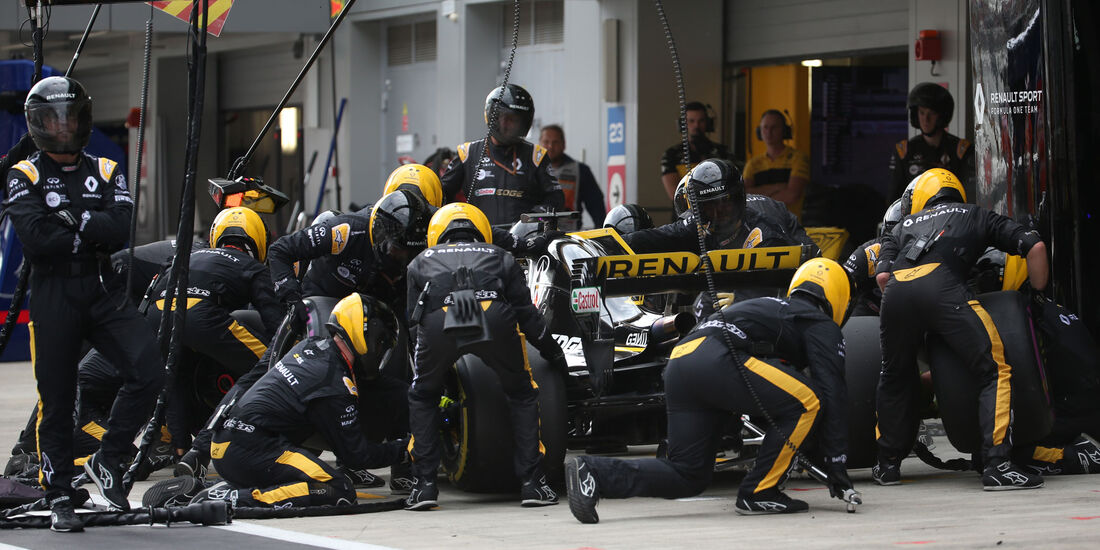 Nico Hülkenberg - Renault - GP Russland 2018 - Sotschi - Rennen
