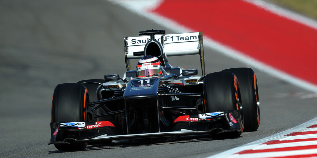 Nico Hülkenberg - Sauber - Formel 1 - GP USA - 15. November 2013