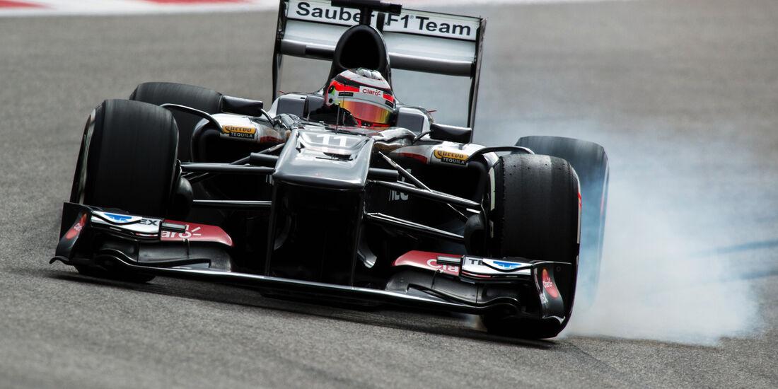 Nico Hülkenberg - Sauber - Formel 1 - GP USA - 16. November 2013