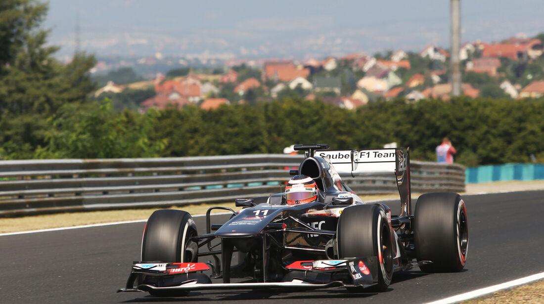 Nico Hülkenberg - Sauber - Formel 1 - GP Ungarn - 26. Juli 2013
