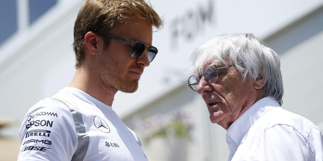Nico Rosberg & Bernie Ecclestone - Formel 1 - GP Aserbaidschan - Baku - 16. Juni 2016