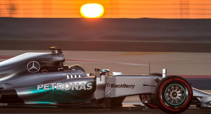 Nico Rosberg - F1 Test Bahrain 2014