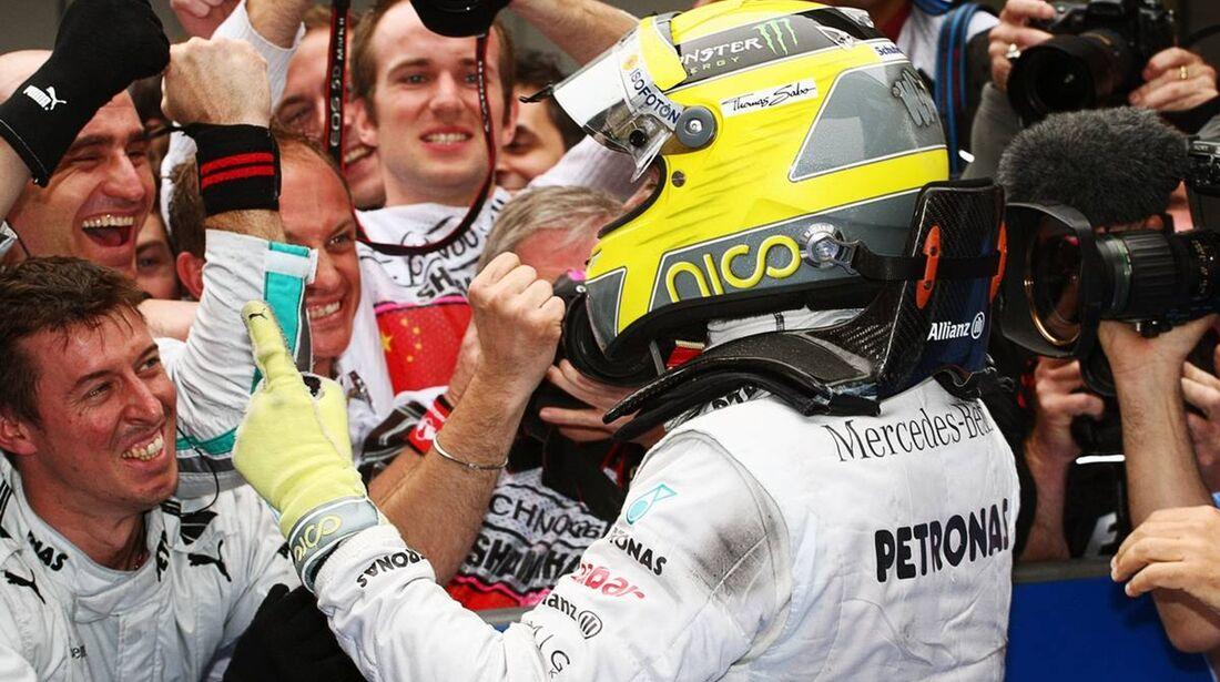 Nico Rosberg  - Formel 1 - GP China - 15. April 2012